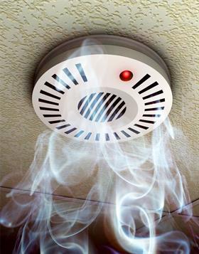 Abbildung eines Rauchwarnmelder